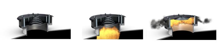 Funcionamiento Venteo sin llama Válvula EVN 2.0