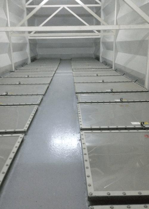 Cubierta RAD para paneles de venteo 2