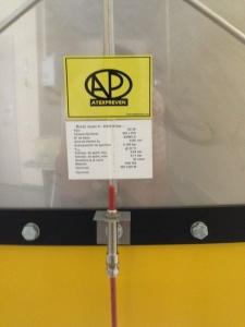 Indicadores de rotura SE y SE-HT para paneles de venteo